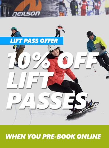 10% OFF Lift Passes