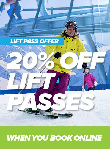 20% OFF LIFT PASSES