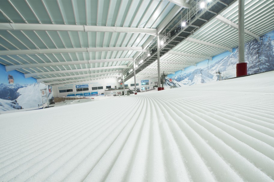 The White Stuff – How Snow is Made Indoors