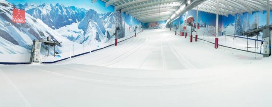 Indoor skiing near you real snow slopes