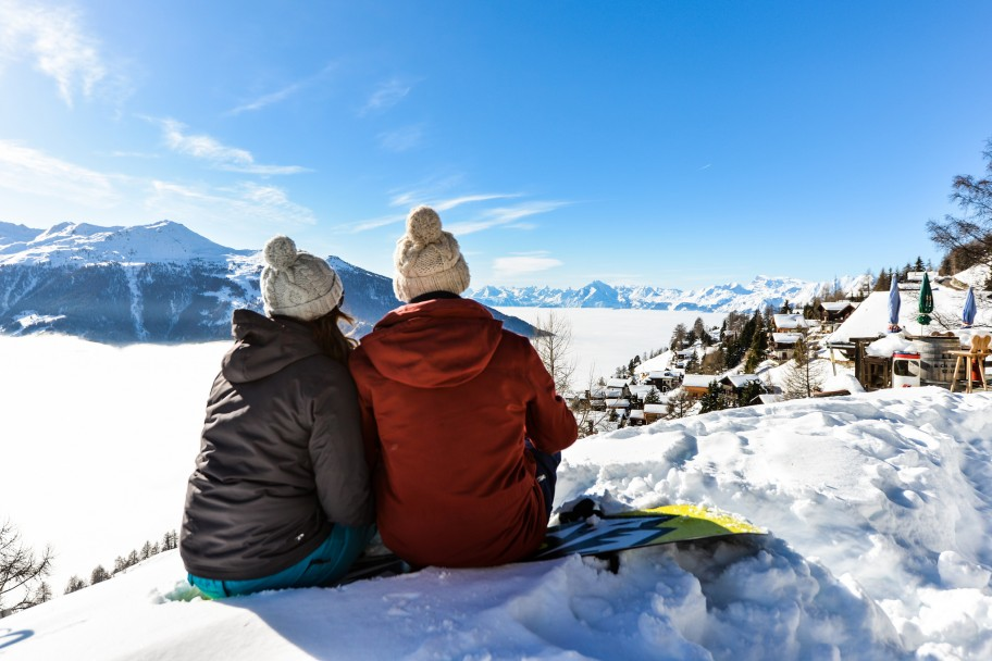 5 Reasons Snowboarders Holiday in Val d'Anniviers