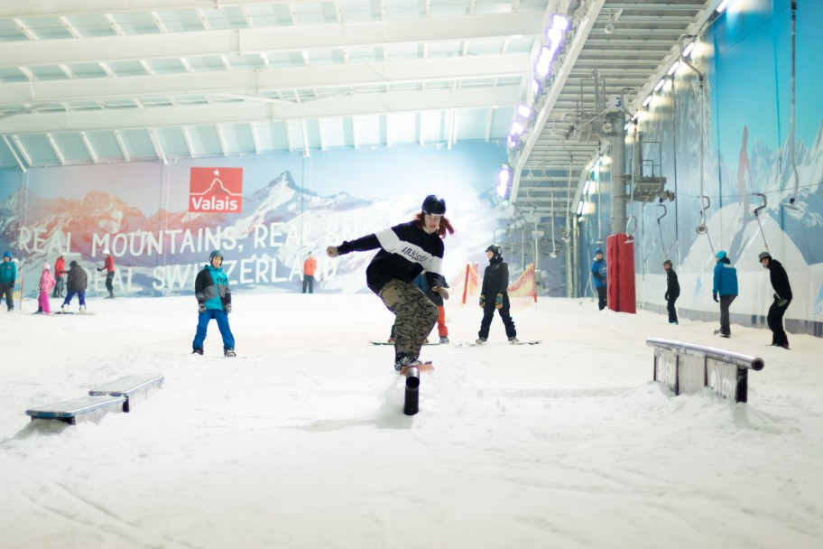 The Snow Centre's Freestyle Manager Talks 2017 Summer Park Nights