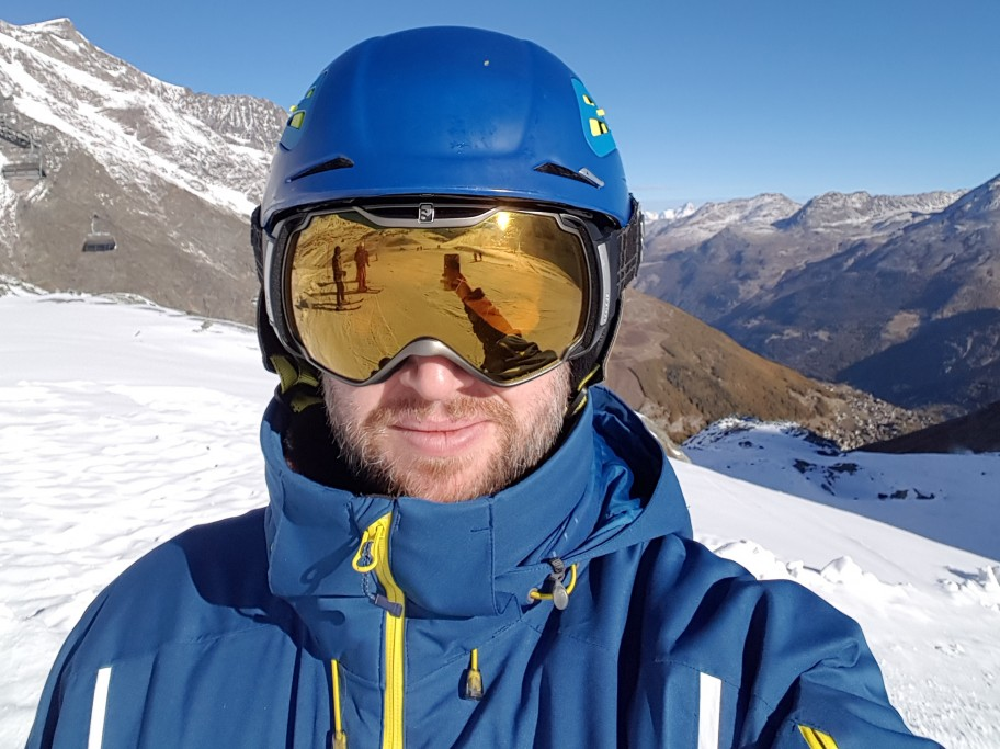 Wearing a Ski Helmet Saved my Life