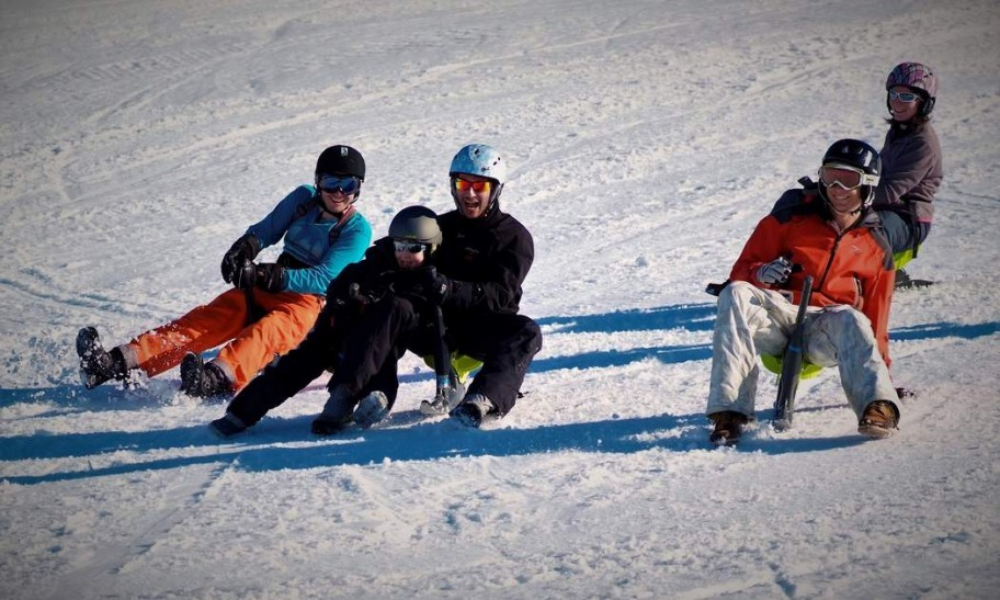 Sledging Tips for Families Skiing in Valais